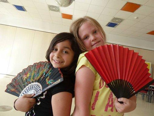 Kindergeburgtstag fächer flamenco ludwigsburg