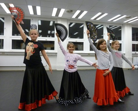 Tanzschule Ludwigsburg - Kindertanz Flamenco