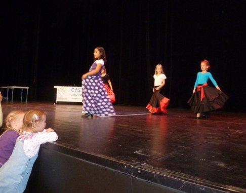 Auftritt Kinder Flamenco Ludwisgburg