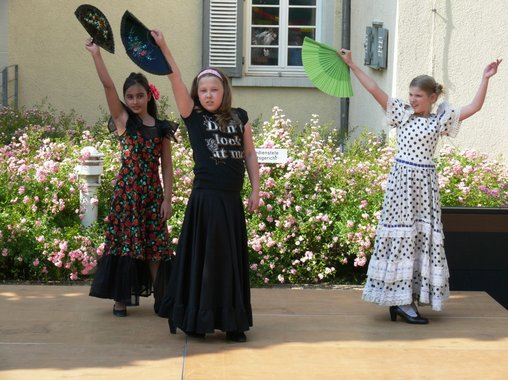 Kinder Flamenco in Ludwigsburg