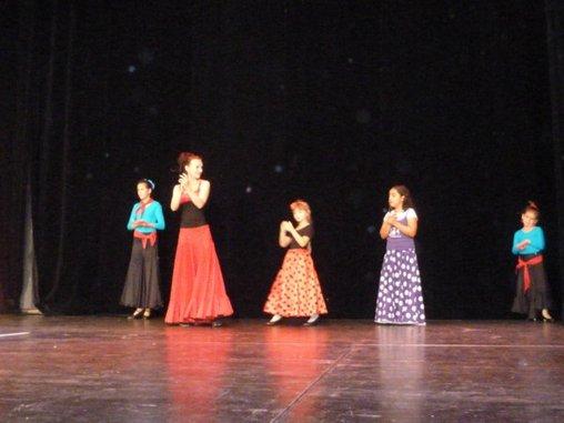 Flamenco auftritt Kindertanz