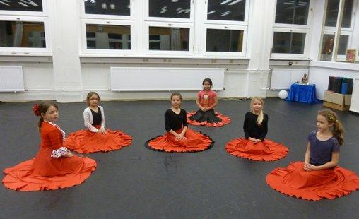 Tanzgruppe Kinderflamenco ludwigsburg