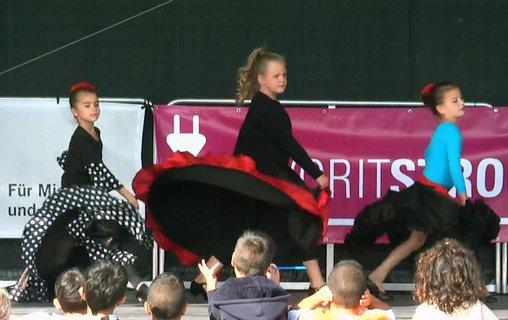 Flamenco für Kinder in Ludwigsburg: Auftritt