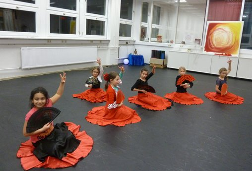 Kinderkurse Flamenco in Ludwigsburg